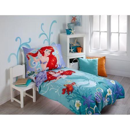Mermaid Toddler Bedding, The Little Mermaid Toddler Bedding