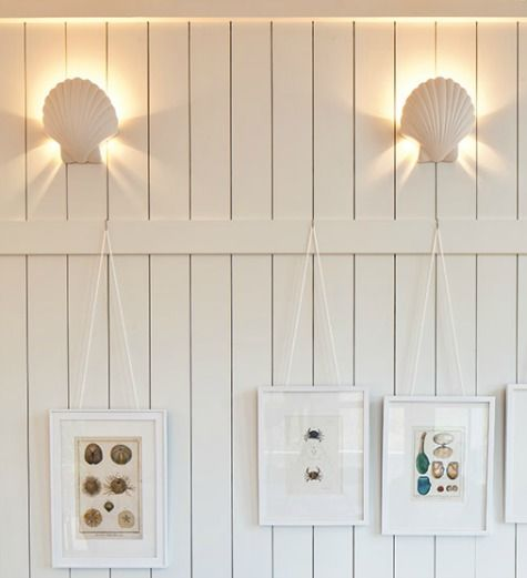 Shell Wall Sconce Lights With Images Beach Room Decor Beach Themed Room Coastal Cottage Living Room