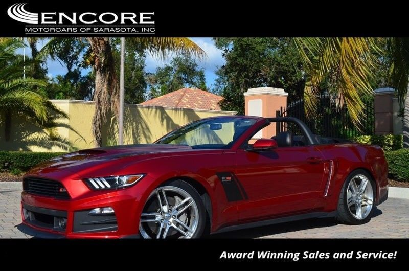 Cool Amazing 2015 Ford Mustang GT Premium 2015 Mustang Convertible.  Numbered Roush Stage 3 Car