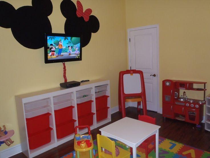 Imagini pentru mickey mouse bedroom decor | Mickey & Minnie Mouse ...