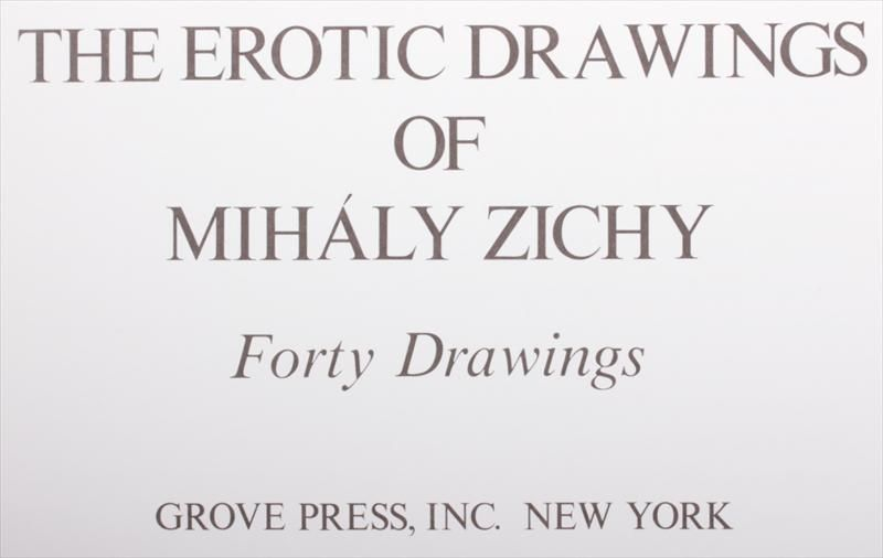 The Erotic Drawings of Mihaly Zichy