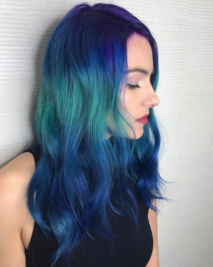 Shine Line Hair Trend Hair Inspiration Color Hair Trends New Hair Trends