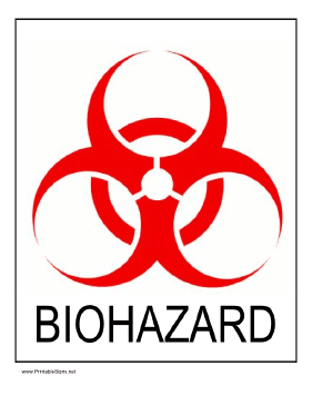photograph relating to Free Printable Hazardous Waste Labels called Inform of organic dangers as a result of short article this printable signal
