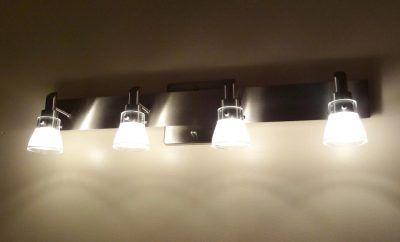 Fabulous Replacing Bathroom Light Fixture On Modern Bathroom - How to replace bathroom vanity light fixture