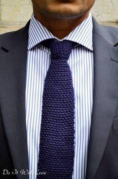 Männer Krawatte Back To Classic Häkelanleitung Häkelanleitungen