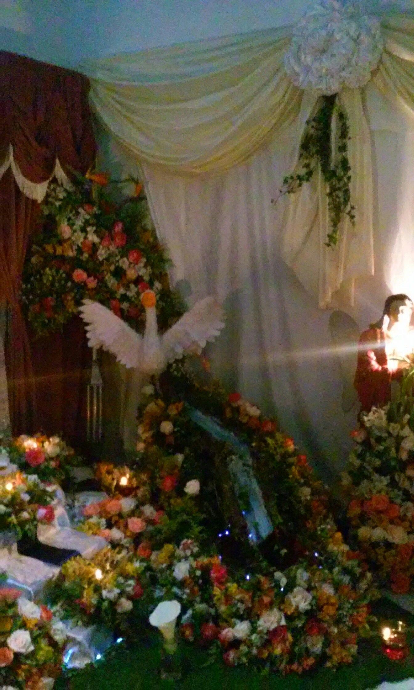 Altat Y Arreglos Florales Para Difuntos Altares Para