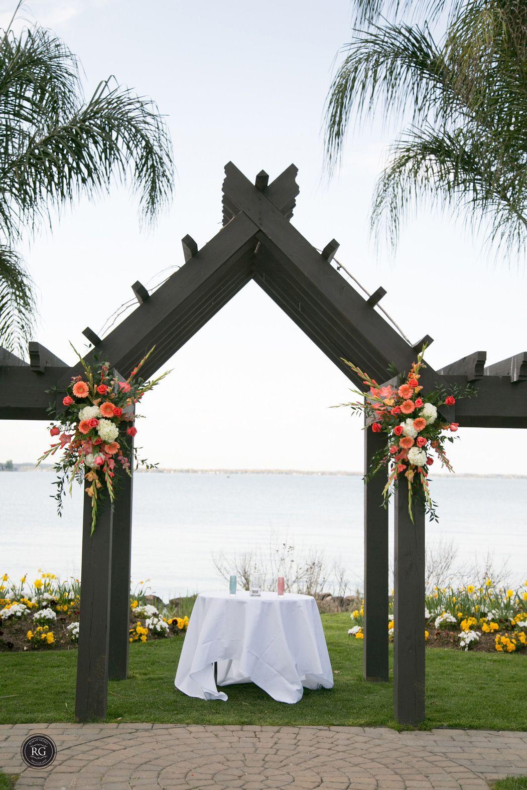 Ceremony Set Up Herrington On The Bay