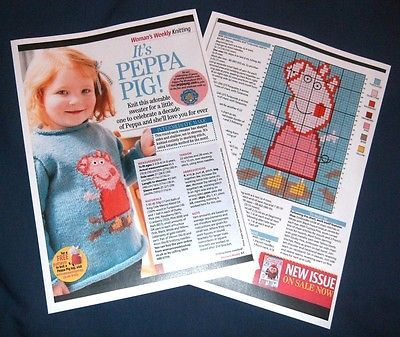 Peppa Pig Jumper Knitting Pattern Free Download Google Search