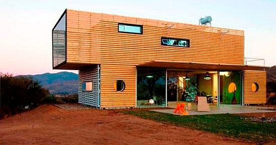 House Made From Shipping Container infiniski 6 homes made of shipping containers | all things
