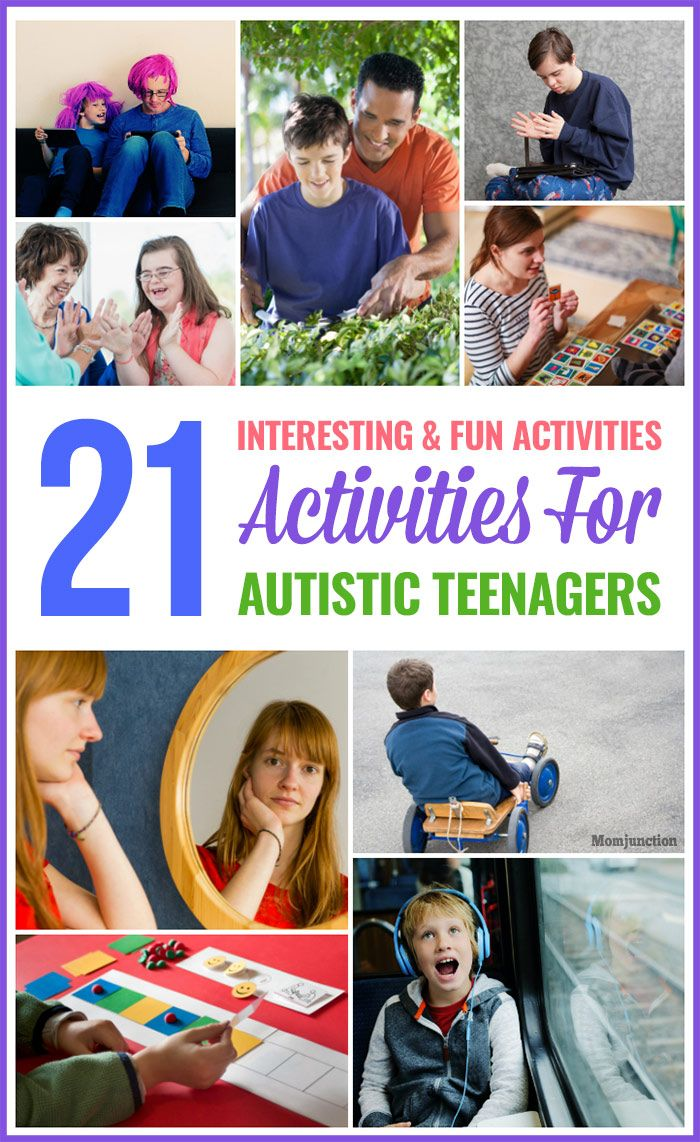 activities for autistic teens