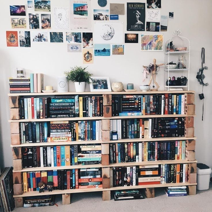 Idea By Immy On Bedroom Bookshelves Diy Beautiful Bookshelf