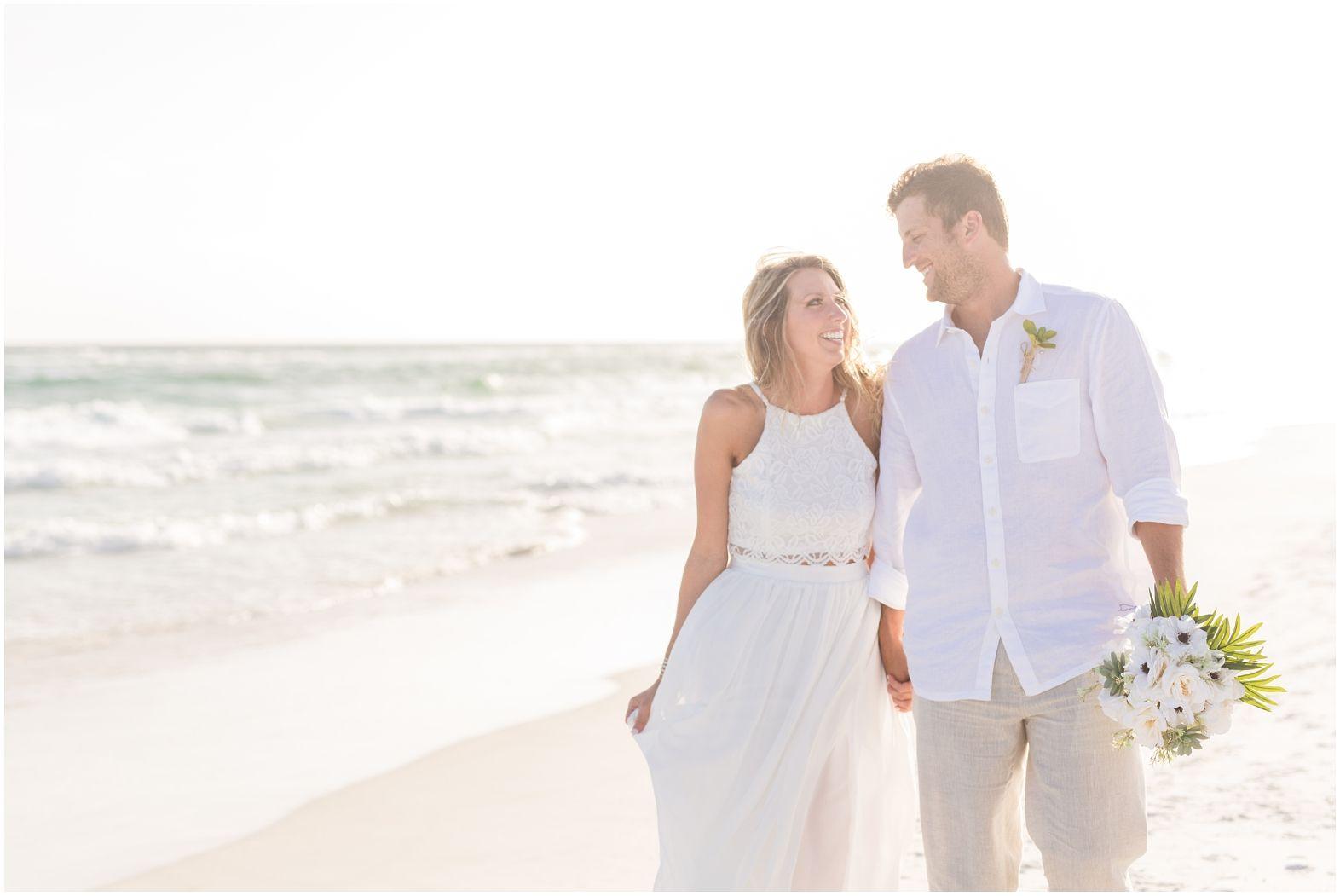 Santa Rosa Beach Destination Wedding Destin Fl Wedding Photographer Kimchristopherphoto Beach Destination Wedding Destination Wedding Wedding Photographers