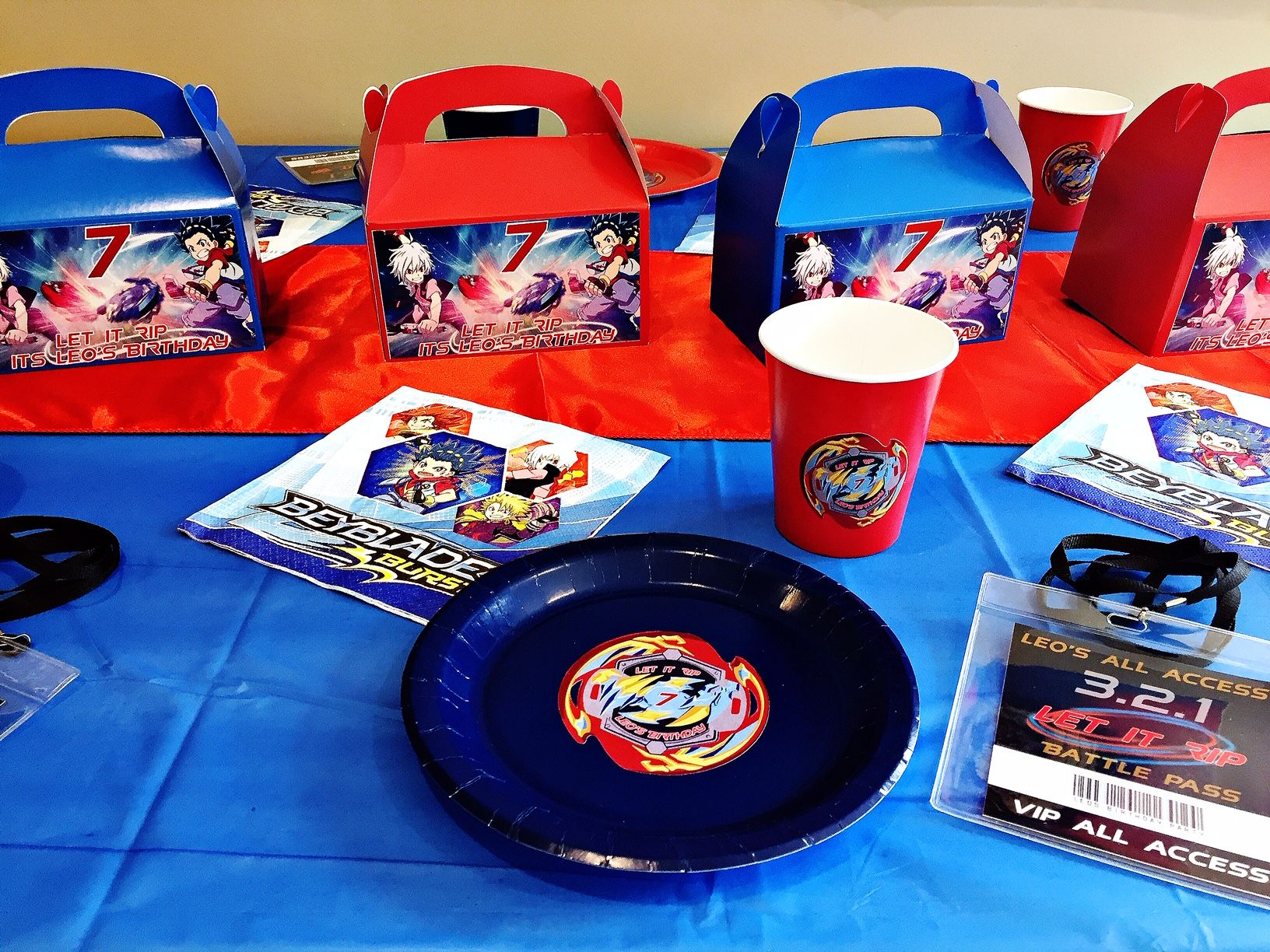 Beyblade party beyblade birthday party party in a box
