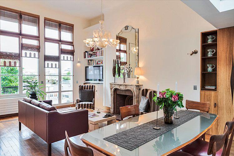 St Germain Des Pres Luxury Penthouse W Balcony Via Haven In Paris