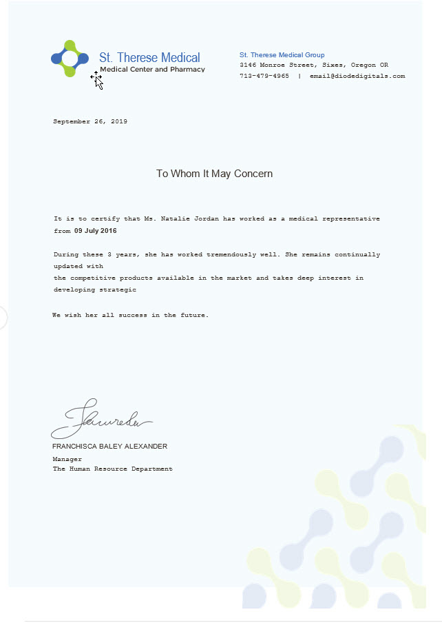 Medical Experience Certificate Template Free Templates With Regard To Certificate Of Experience T Certificate Templates Certificate Design Template Templates