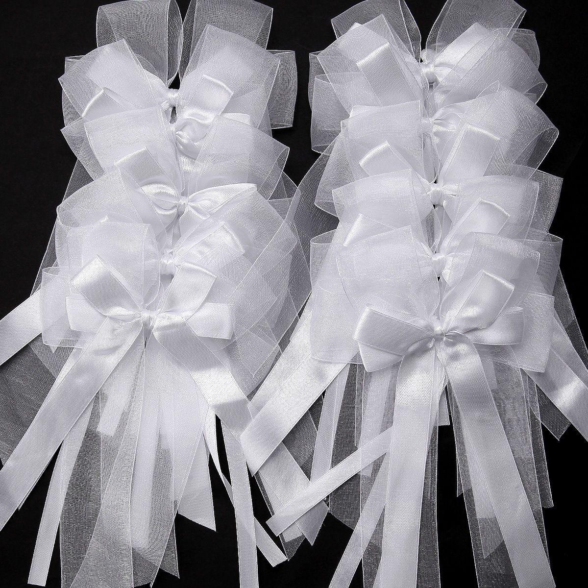 10x noeud papillon ruban satin ruban tulle pr mariage voiture d coration 057 maison. Black Bedroom Furniture Sets. Home Design Ideas
