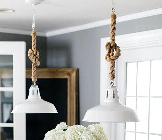 Rope Cord Pendant Lights Rope Pendant Light Nautical Pendant