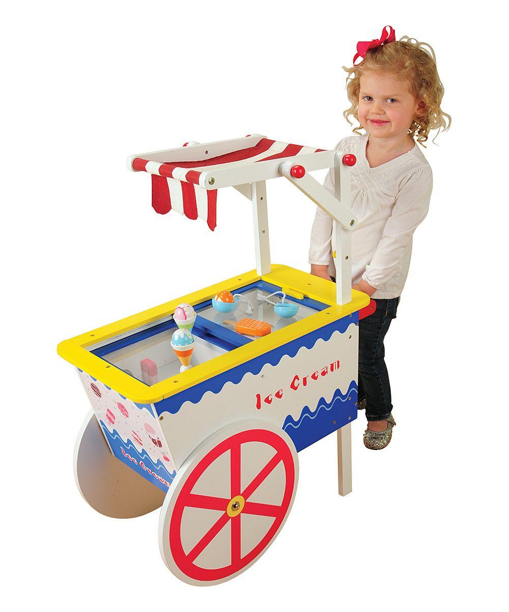 Ice Cream Cart Toy Set