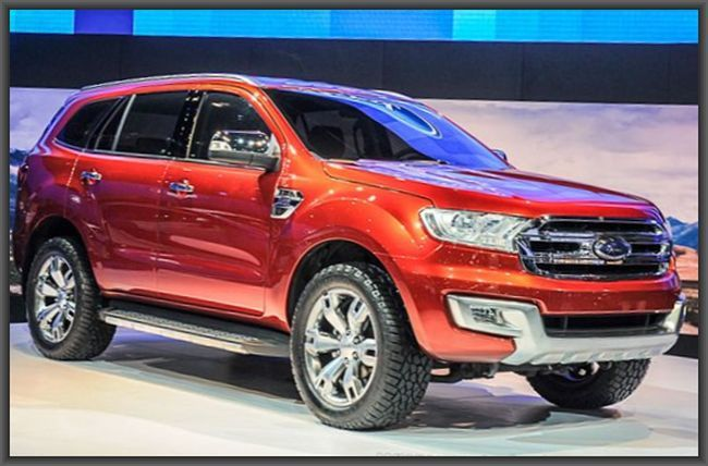 2015 Ford Everest Review And Price Ford Endeavour Suv Upcoming