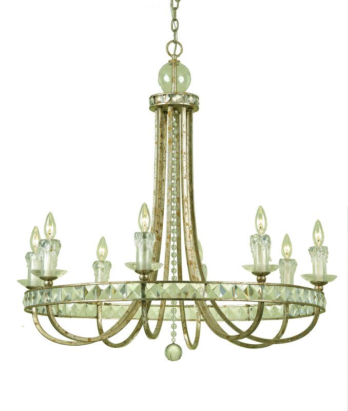 View The Af Lighting 7452 8h Candice Olson Aristocrat 8