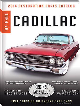 FREE 1954-76 Cadillac Parts Catalog | Cadillac | Pinterest