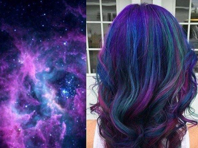 Oil Slick Hair Color Galaxy Hair Color Space Hair Best Hair Dye