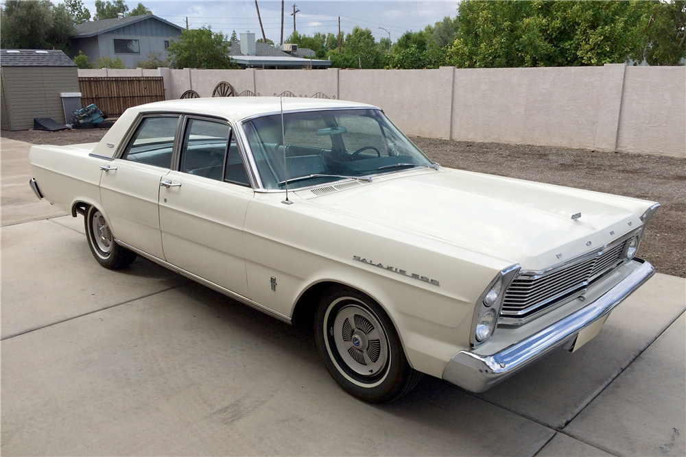 1965 Ford Galaxie 500 4 Door Sedan Barrett Jackson Auction Company World S Greatest Collector Car Auctions Ford Galaxie Ford Galaxie 500 Galaxie 500