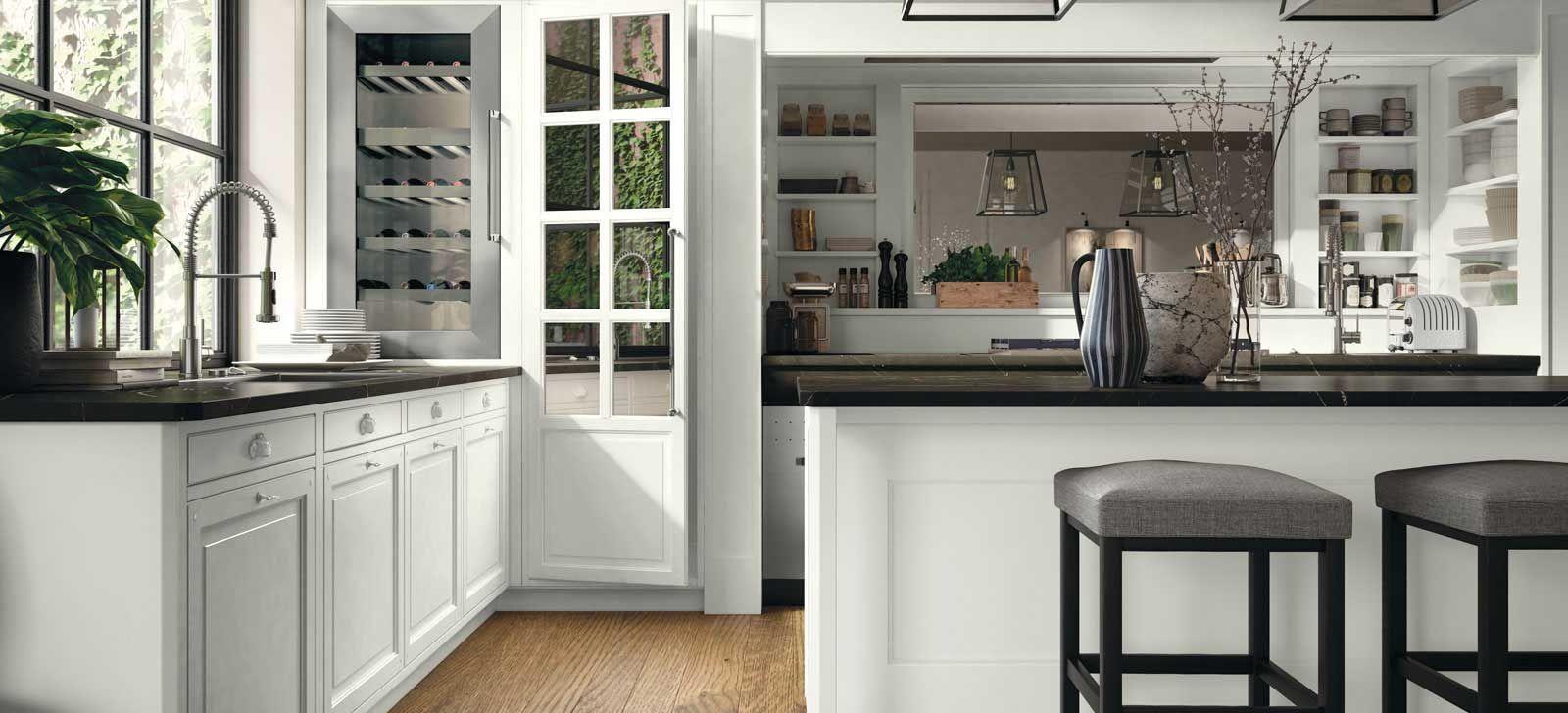 La cucina componibile contemporanea Lab 40 di Marchi Cucine in stile ...