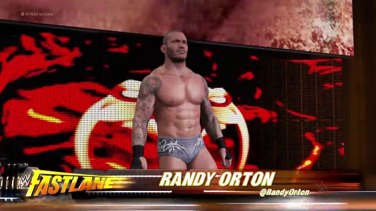 WWE 2K17 Fantasy Match AJ Styles vs Randy Orton HD PS4