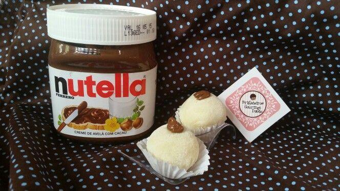 Muitooo bom esse Brigadeiro de Ninho com Nutella  Brigadeiros Gourmet DaGio