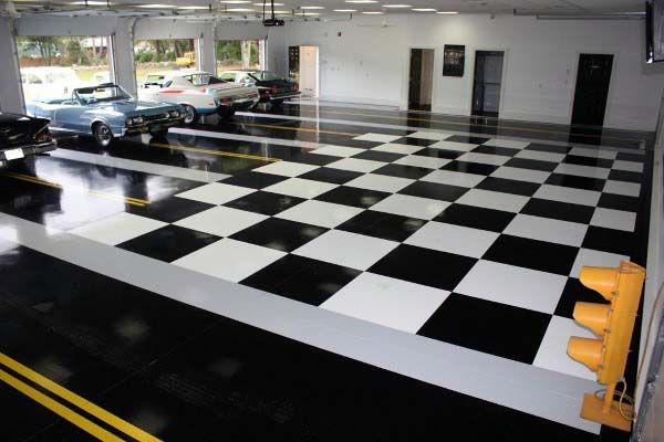 Pin On Garage Floor