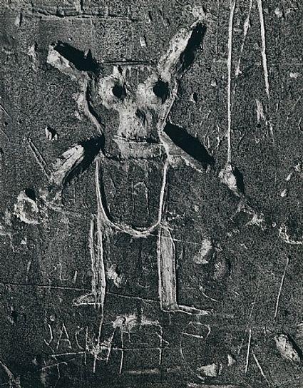 Brassai Graffiti Serie Vii La Mort 1935 1940 Photographie
