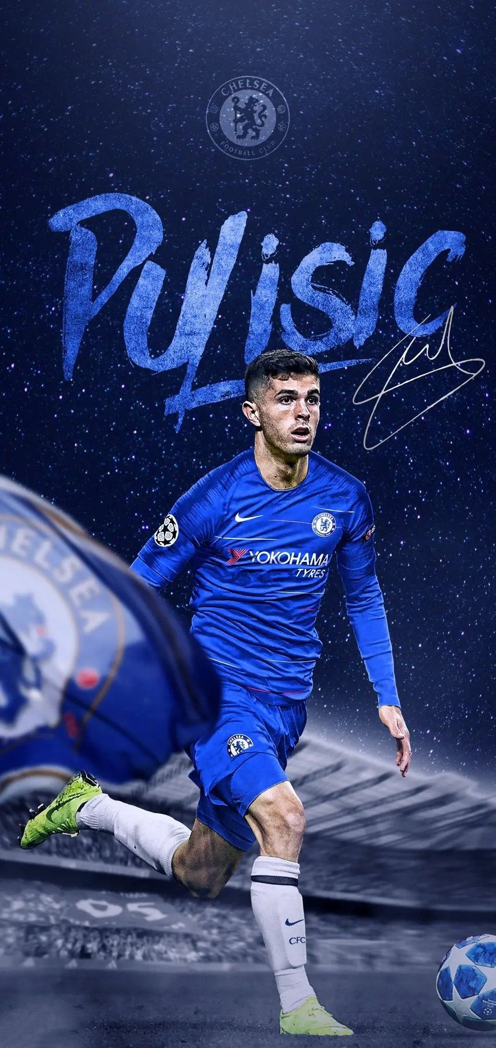 Pin By Asha Jones On Football Christian Pulisic Chelsea Football Club Wallpapers Chelsea Players