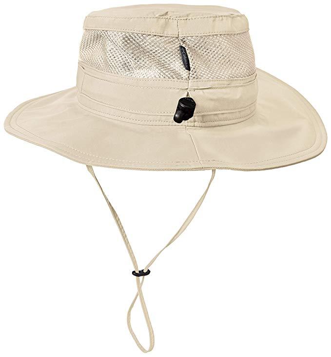Moisture Wicking Fabric UV Sun Protection Columbia Unisex Bora Bora II Booney Hat