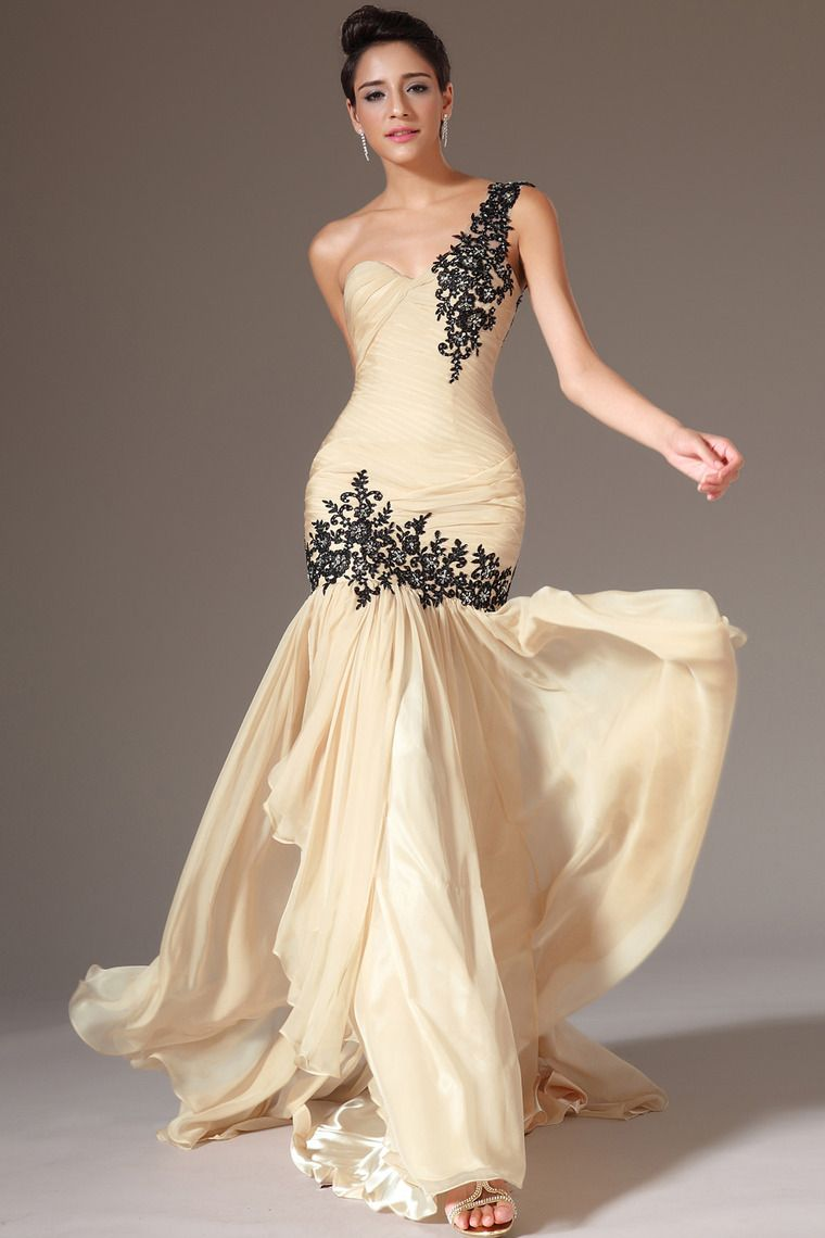 Buy high quality prom dresses mermaid sweetheart one shoulder