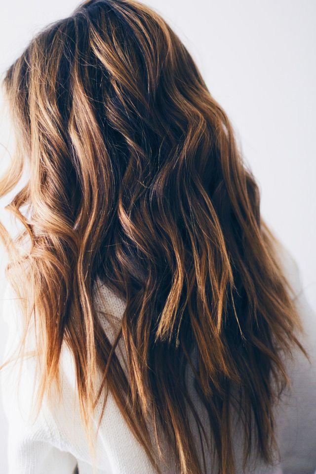 Straight End Waves Waves Hair Tutorial Beachy Waves Hair Beachy Waves Hair Tutorial