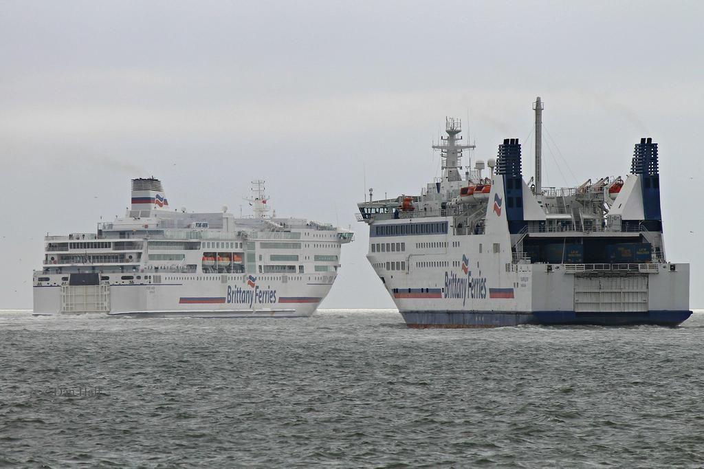 Pont Aven And Barfleur Set Off Together For Santander Portsmouth