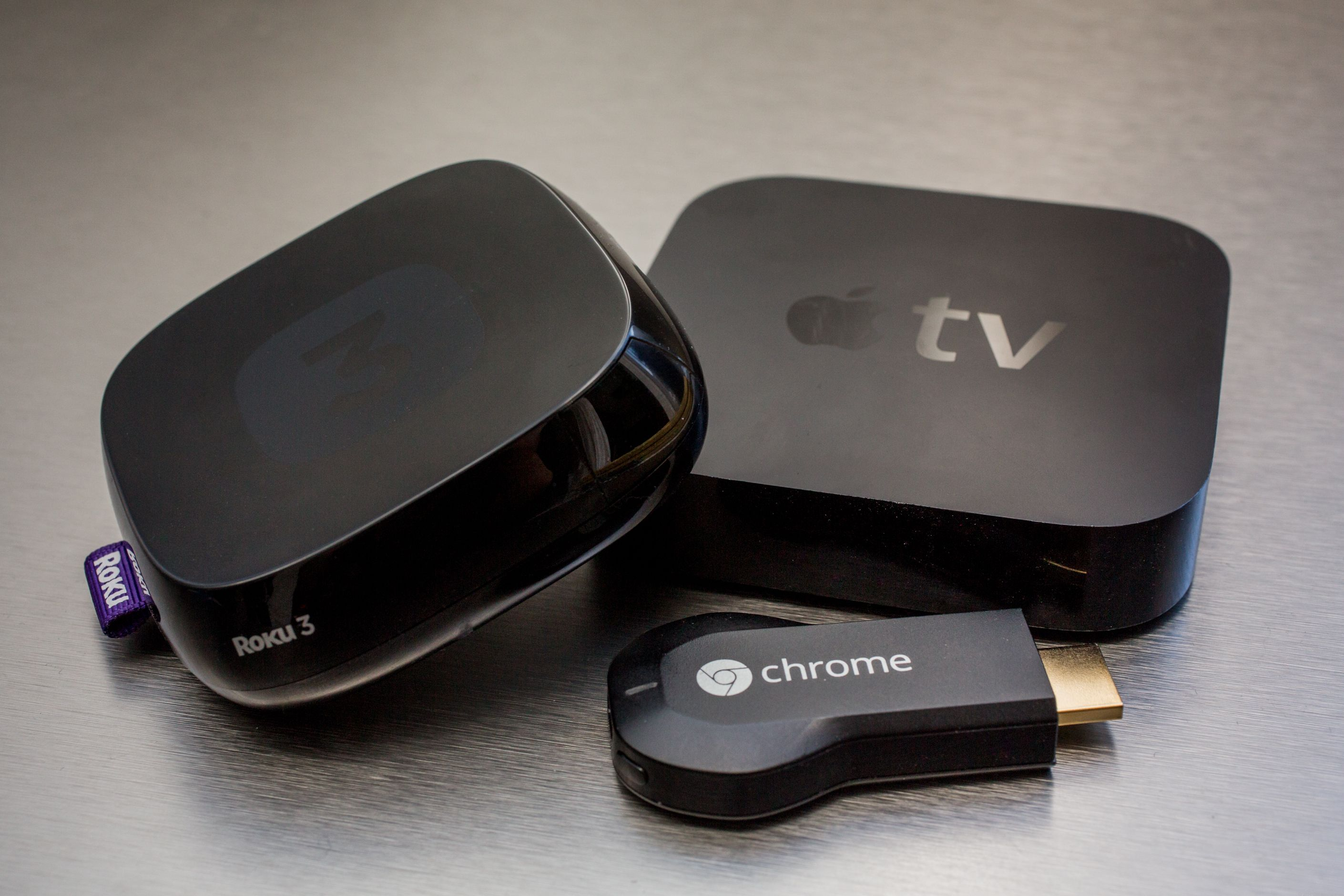 Roku vs. Apple TV vs. Chromecast vs. Amazon Fire TV vs