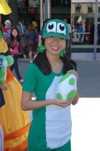 Yoshi Halloween Costume Diy.Fanimecon2010 Yoshi Girl Holiday Fun Diy Halloween Costumes