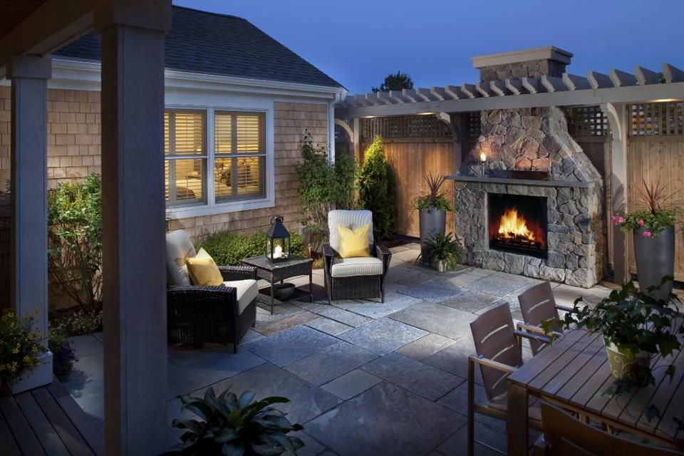 Cozy Rear Patio Remodel For An Evening Of Relaxation Or Entertainment