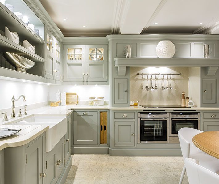 Exquisite Grey Painted Kitchen – Tom Howley (I like how the sink ...