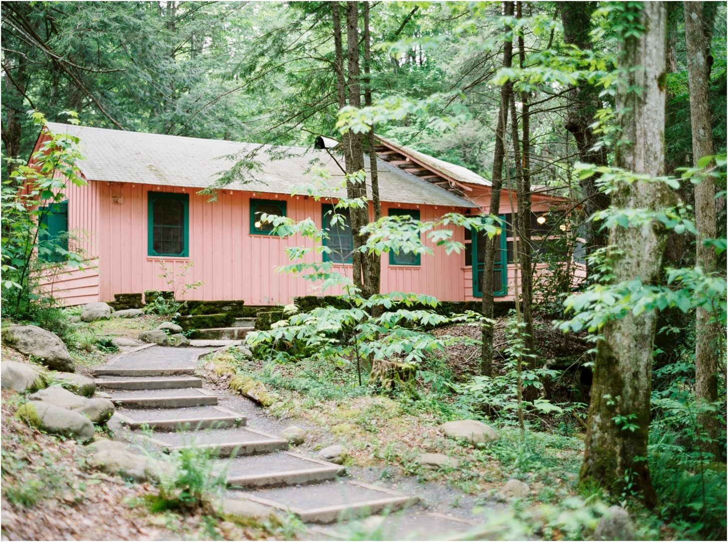 Charmant Spence Cabin, A Wedding Venue In Elkmont, Great Smoky Mountains National  Park