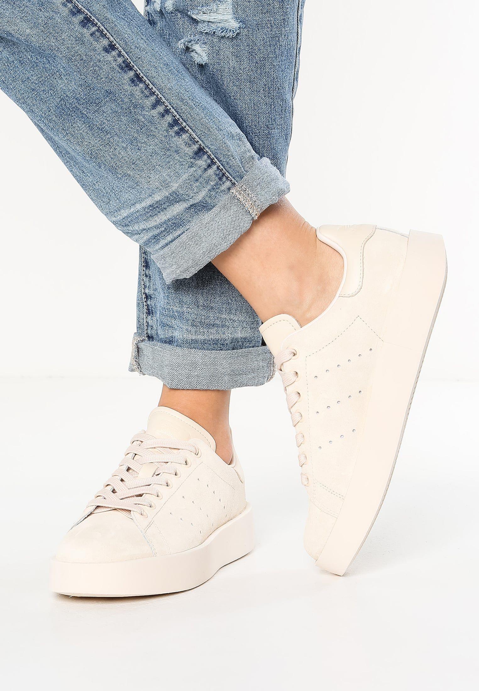adidas Originals STAN SMITH BOLD - Zapatillas sand zJTQ8g4Dmt