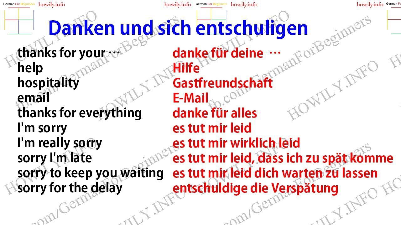 Delay Auf Deutsch