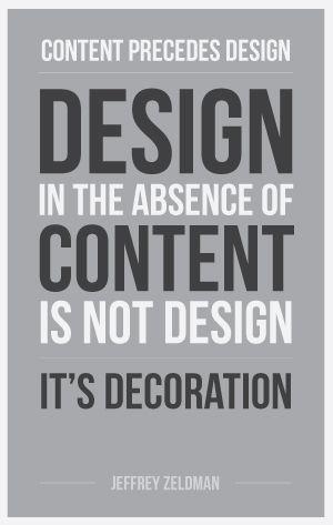Content First Sundog Design Quotes Inspiration Graphic Design Quotes Design Quotes