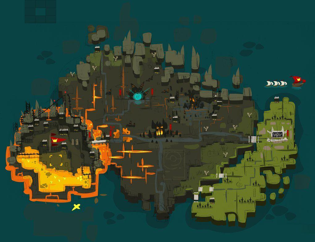 wakfu new capital of brakmar 2d view by sevpoolay on deviantart game designdesign - Game Design Ideas