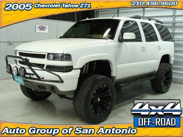 Chevy Tahoe Offroad Accessories | 2005 Chevrolet Tahoe Z71 Off Road Loaded  In SAN ANTONIO