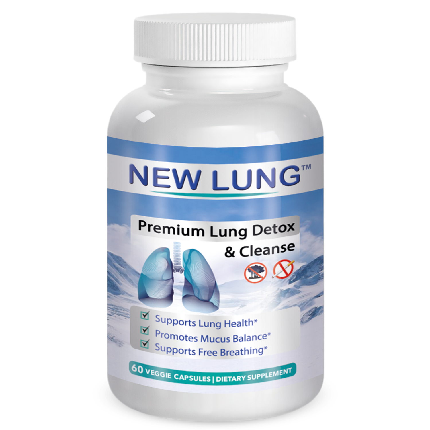 NEW LUNG™ Top Rated Lung Detox Lung Cleanse