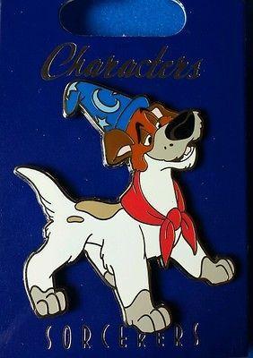 VHTF Disney Pin WDI Dodger Dog Characters Sorcerer Hat LE 300 OC Oliver