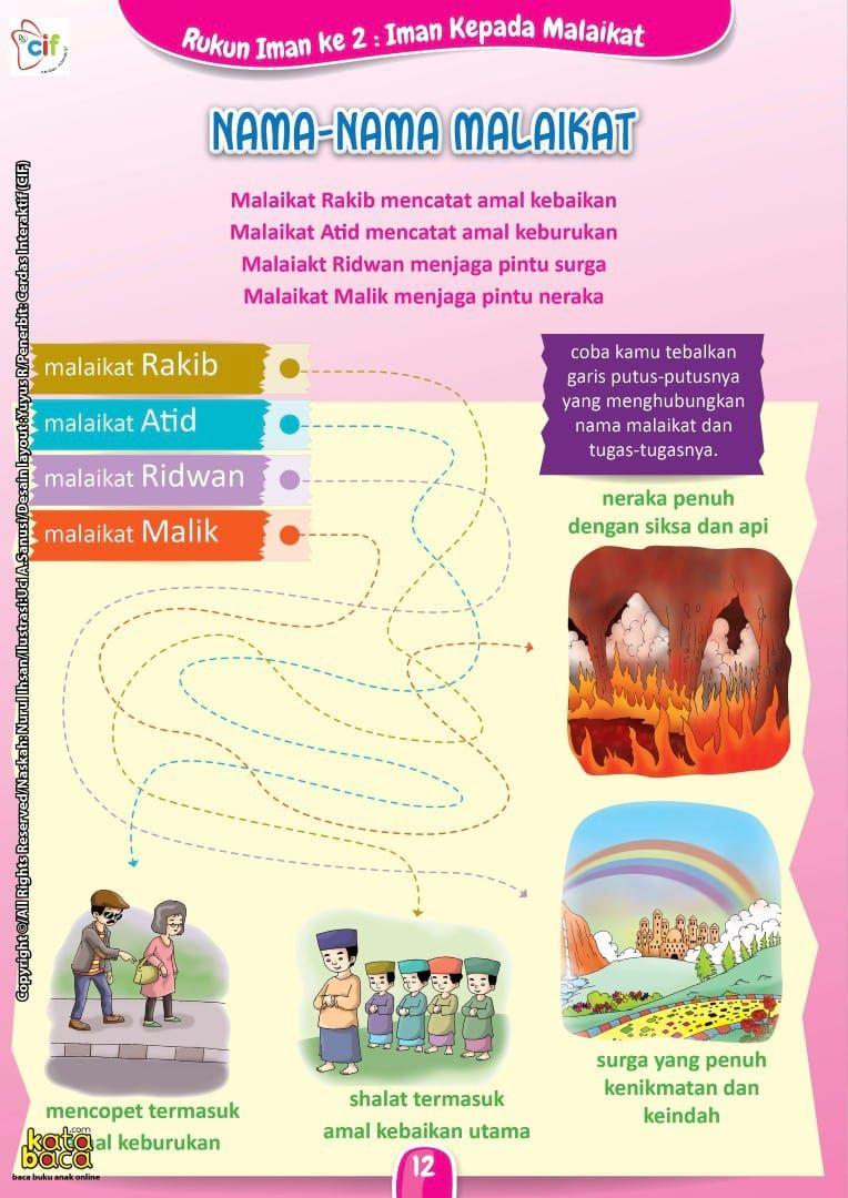 Baca Online Buku Brain Games Belajar Rukun Iman Untuk Anak Dengan